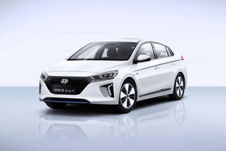 Компания Hyundai представила в Женеве проект IONIQ