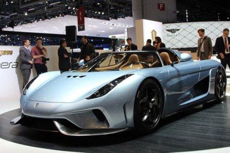 В Женеве представлен гиперкар Koenigsegg Regera