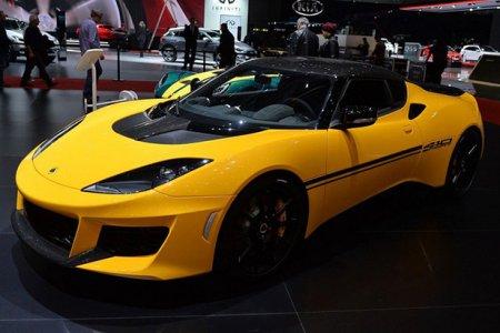 Компания Lotus презентовала самую быструю модель Evora