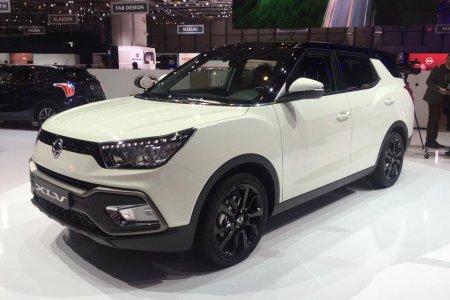 Модель SsangYong Tivoli XLV 11 представлена официально