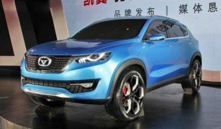 В интернете появились снимки модели Cowin X3 для автомобильного рынка Китая