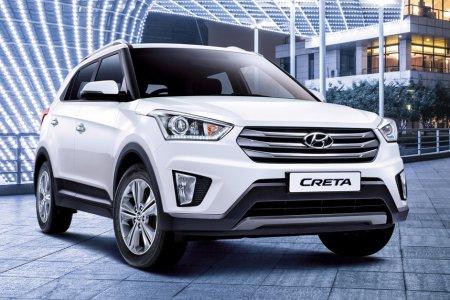 Hyundai вывел на зимние тесты в России кроссовер Creta