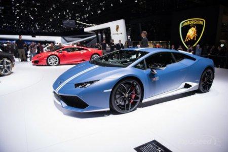 В Женеве представлен Lamborghini Huracan LP 610-4 Avio