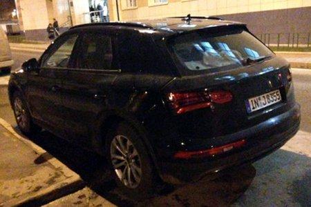 Audi Q5 замечен во время тестов в Москве
