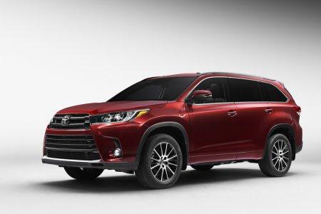 Toyota представила обновленную модель Highlander 2017 модельного года
