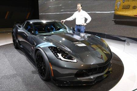 Chevrolet представил в Женеве Corvette Grand Sport