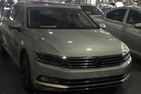 Новый Volkswagen Magotan был сфотографирован фотошпионами