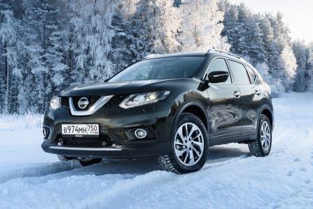 Самая популярная модель Nissan в феврале в России – X-Trail