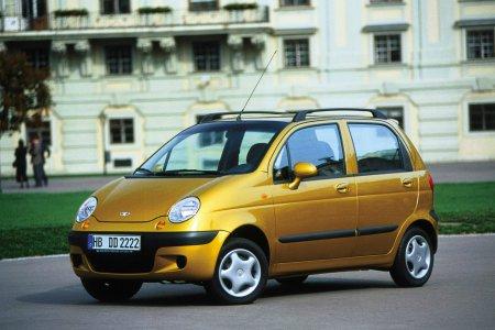 Самой дешевой иномаркой Украины стал Daewoo Matiz