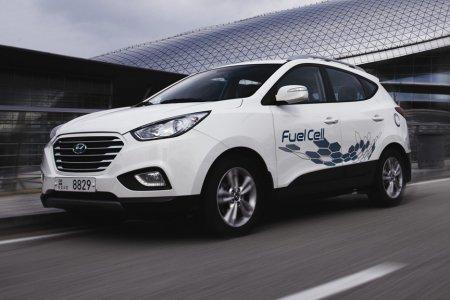 Водородный кроссовер Hyundai будет презентован в 2017 году