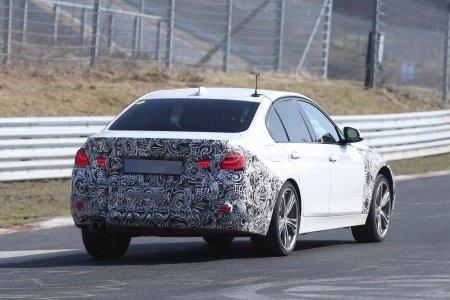 В Германии испытывают модель BMW 3 Series