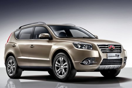 Стала известна стоимость модели Geely Emgrand X7 для рынка России