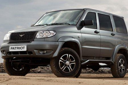 УАЗ Патриот в Топ-25 самых популярных автомобилей рынка России
