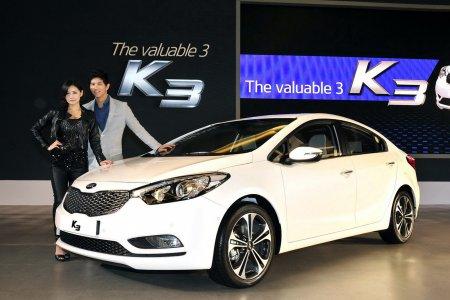 Kia K3 поступит в продажу на автомобильный рынок Китая
