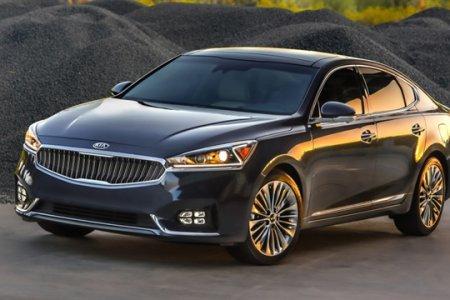 Kia представила в Нью-Йорке модель бизнес-седана Cadenza