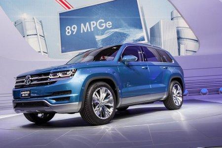 Новый Volkswagen CrossBlue засветился в интернете