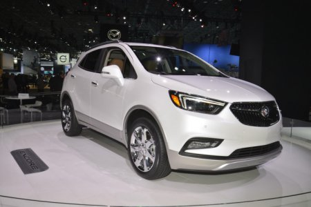 Buick продемонстрировал обновленную модель Encore