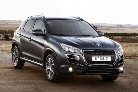 В России прекратится продажа модели Peugeot 4008