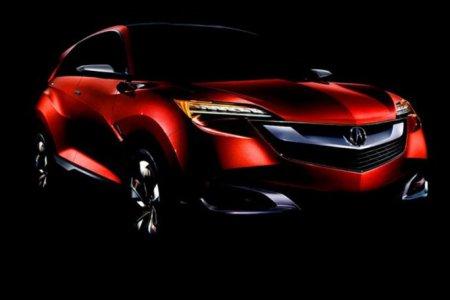 Acura представила новый гибридный кроссовер