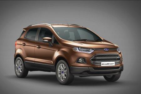 Представление рестайлингового Ford EcoSport состоится в конце года