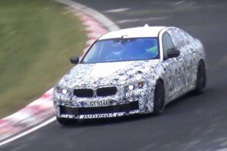 BMW M5 прошел тесты на трассе Нюрбургринг