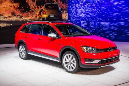 Volkswagen презентовал модель Golf Alltrack в Нью-Йорке
