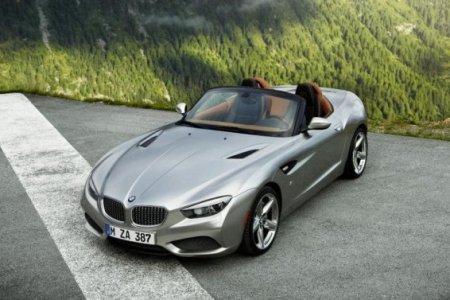 Родстер BMW Z4 был замечен фотошпионами на озере