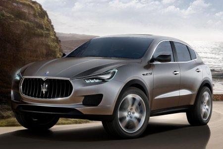 Кроссовер Maserati Kubang засветился в интернете