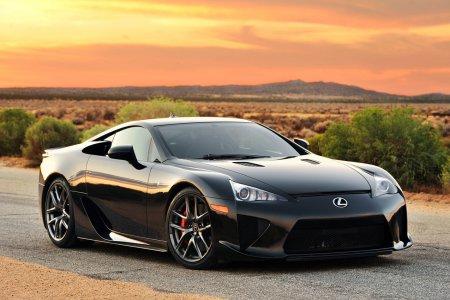 Lexus собирается создать новый LFA