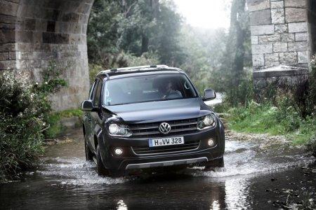 Рестайлинговый Volkswagen Amarok выехал на испытания