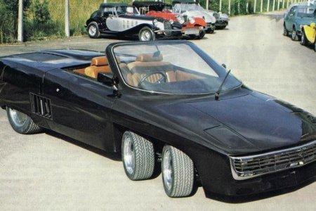ТОП-10 уникальных шестиколесных автомобилей